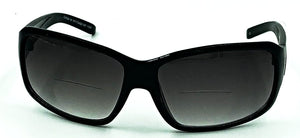 Paris Bifocal Sun Readers - Black
