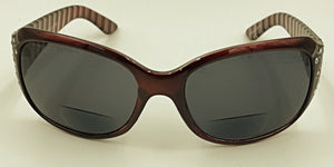 Sophia Bifocal Reading Glasses - Maroon