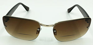 Frances Bifocal Sun Readers - Brown