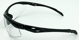 Ethan Bifocal Sun Readers - Clear (Side View)