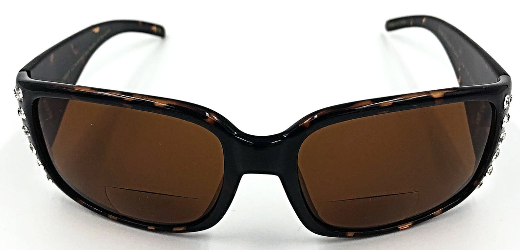 Jennifer Bifocal Sun Readers - Amber