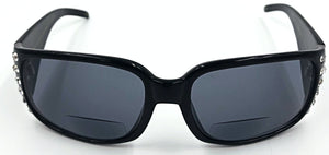 Jennifer Bifocal Sun Readers - Black
