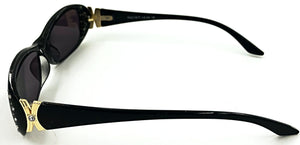Ava Full Reader Sunglasses - Side View