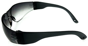 Redford Bifocal Sun Readers - Smoke (Side View)