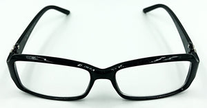 Isabella Clear Fashion Readers - Black