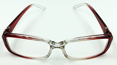 Isabella Clear Fashion Readers - Red