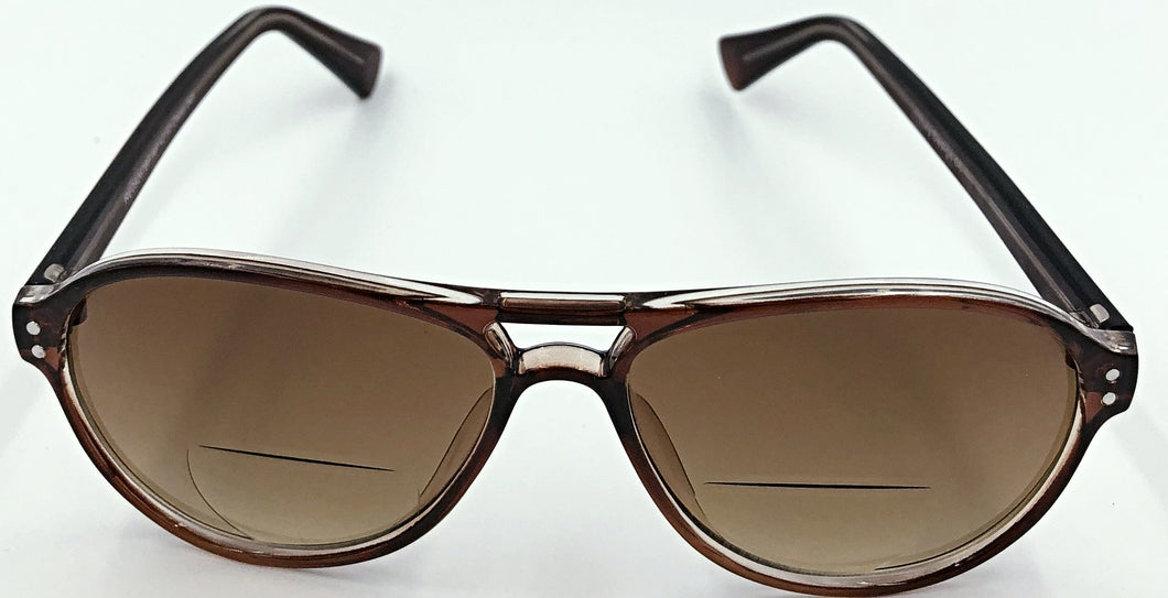 Nicole Sunglass Bifocals - Brown