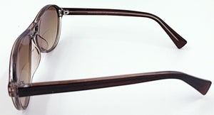 Nicole Sunglass Bifocals - Brown (Side View)