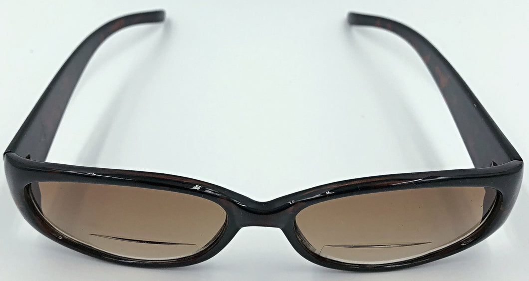Mary Sue Bifocal Sun Readers - Brown