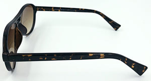 Nicole Sunglass Bifocals - Brown With Leopard Stripes (Side View)