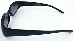 Mary Sue II Bifocal Sun Readers - Black (Side View)