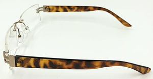 Christine Bifocals - Brown (Side View)