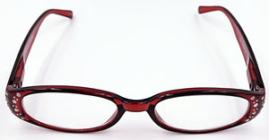 Mia Clear Fashion Readers - Red