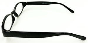 Mia Clear Fashion Readers - Black (Side View)