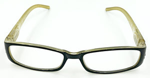 Samantha Clear Fashion Readers - Yellow/Black