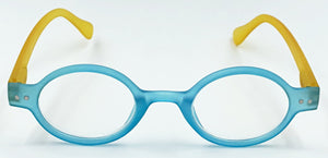Aria Clear Readers - Blue With Yellow Arms
