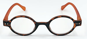 Aria Clear Readers - Brown With Orange Arms
