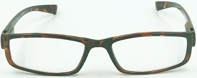 Jackie 1 Clear Fashion Readers - Brown