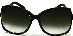 Jackie O Sun Readers - Black