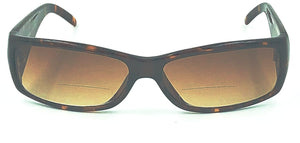 Alex Sunglass Bifocal Readers Brown