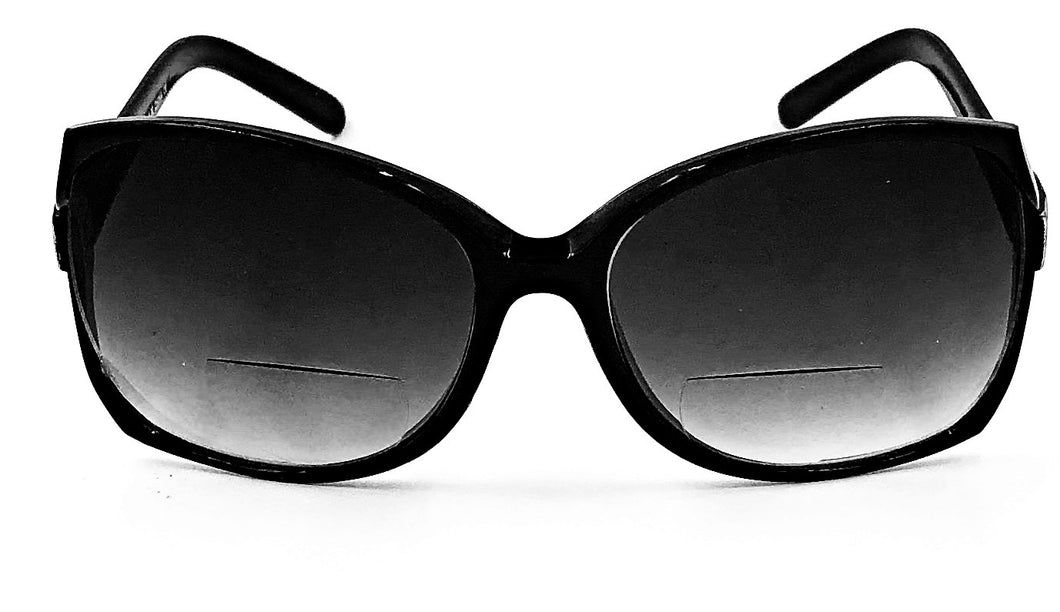 Jackie O Bifocal Sun Readers - Black
