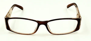 Miranda Clear Fashion Readers - Brown