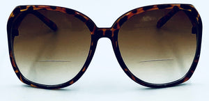 Jackie O 2 Bifocal Sun Readers - Brown
