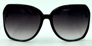Jackie O 2 Bifocal Sun Readers - Black