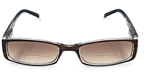 Maxie Bi-Focal Sun Readers-Amber