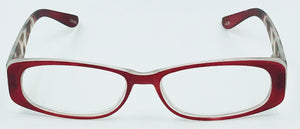Chloe Clear Fashion Readers - Red