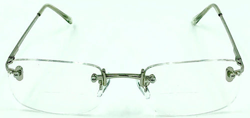 Jason Clear Bifocals - Silver