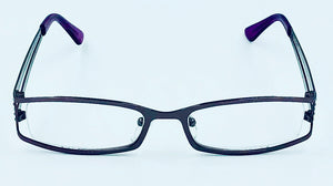 Roz Clear Fashion Readers - Purple