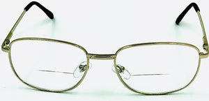 Bruce Bifocals - Gold