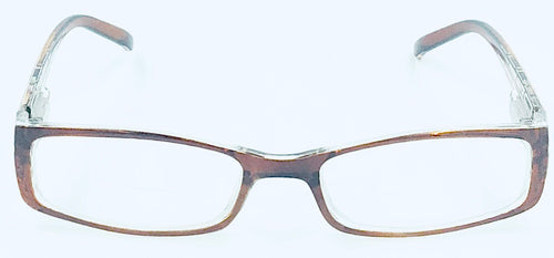 April Clear Bifocals - Amber