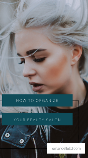 How to organize your beauty salon