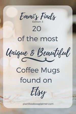 20 Best & Most Unique Coffee Mugs on Etsy