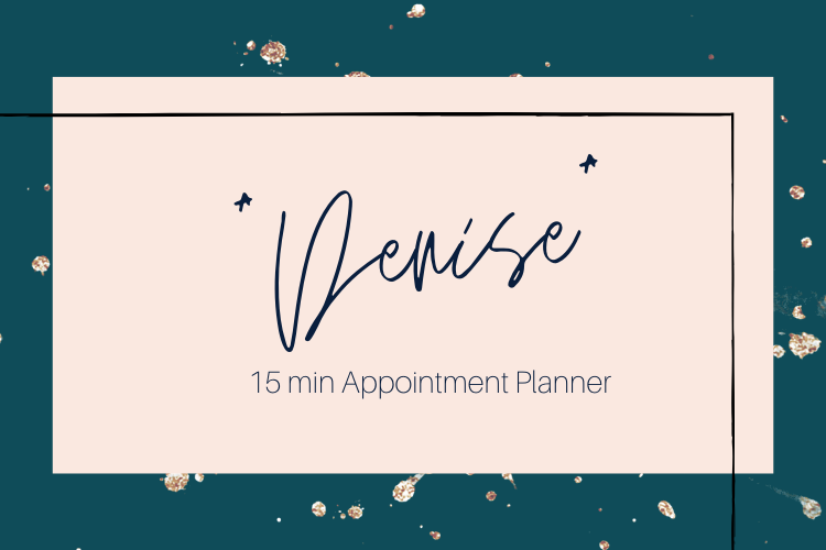 """Denise"" Appointment Planner"