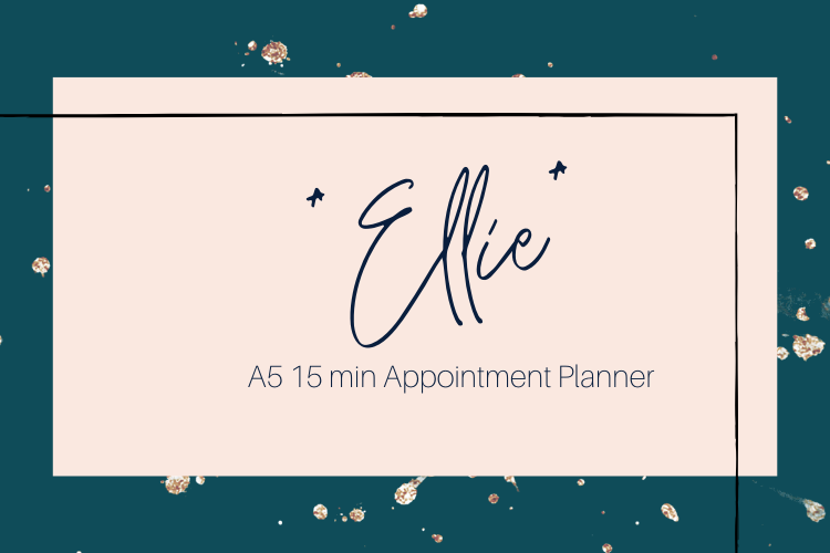 Ellie A5 Appointment Planner