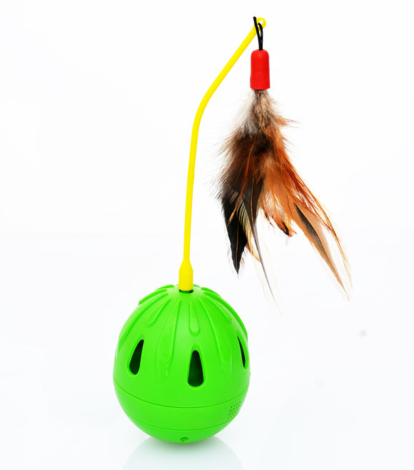 Tricky Tumble Interactive Cat Toy