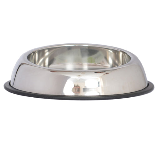 Heavy Weight Non-Skid Easy Feed High Back Pet Bowl for Dog or Cat - 8 oz - 1 cup