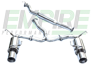 Subaru Impreza WRX/STi Sedan Performance Exhaust System 2008-14