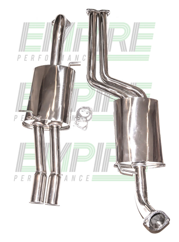 Ford Falcon (2002-2009) XR8 / XR6T (BA & BF) Stainless Ute Exhaust Catback
