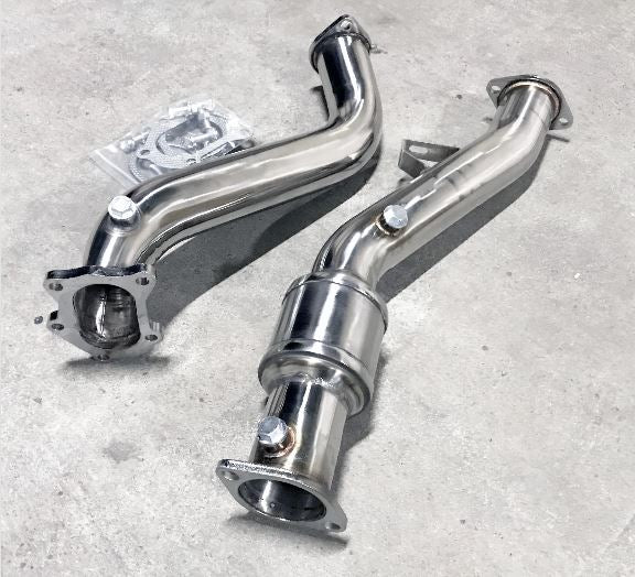 Subaru WRX & STI (2008-2015) Road-spec Down Pipe Exhaust with CAT