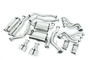 "Holden Commodore (2006-2017) VE / VF SS SEDAN & WAGON Twin 3"" Stainless Engine-Back Exhaust System"
