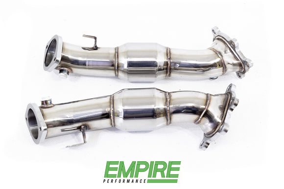 Nissan GT-R R35 Exhaust Downpipes (Catted)