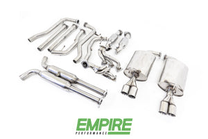 "Holden Commodore (2007-2015) VE / VF SV6 Twin 2.25"" Stainless Engine-back Exhaust System"