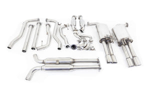 "Holden Commodore (2006-2015) VE / VF SV6 Twin 2.25"" Stainless Engine-back Exhaust System"