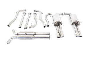 "Holden Commodore (2006-2017) VE / VF SV6 Twin 2.25"" Stainless Catback Exhaust System"