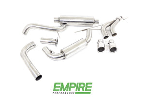 "Ford Focus ST(2013-2018) 2.0 turbo 3"" Catback Exhaust"