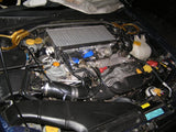 Subaru WRX GD Top Mount Intercooler Upgrade Installed